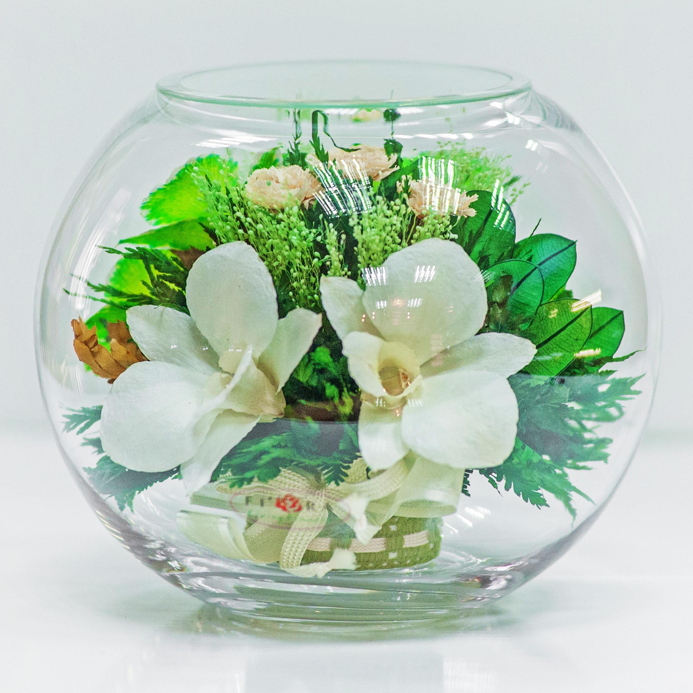 как украсить круглую вазу фото касается просмотра